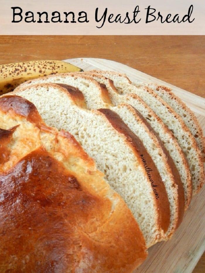 Banana Yeast Bread