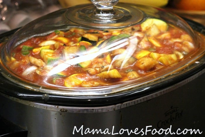 Cook Italian Stew for Four Hours in the Crock Pot