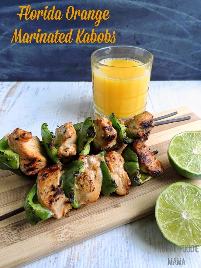Florida Orange Marinated Kabobs