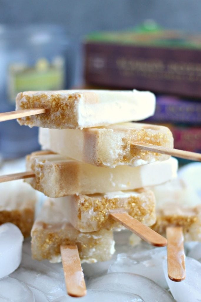 Butterbeer Creamsicles Recipe