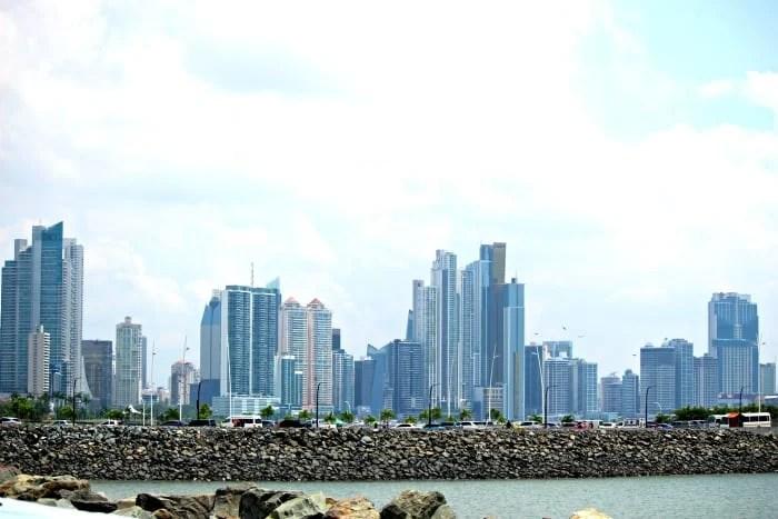 view of new panama skyline