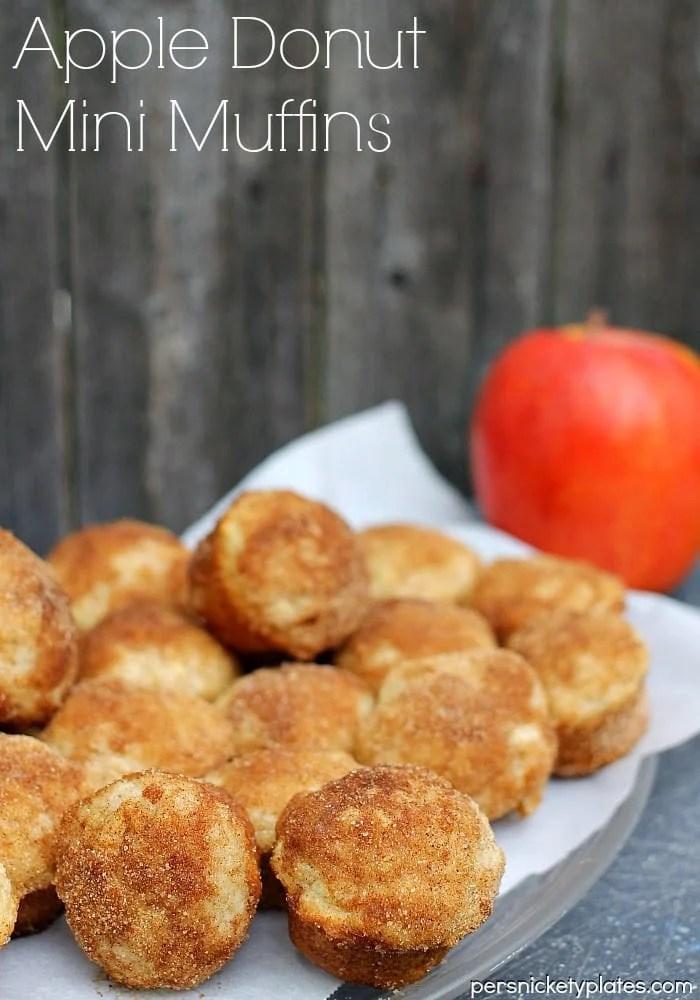 Apple Donut Mini Muffins