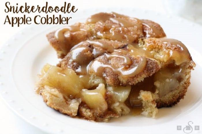 Snickerdoodle Apple Cobbler