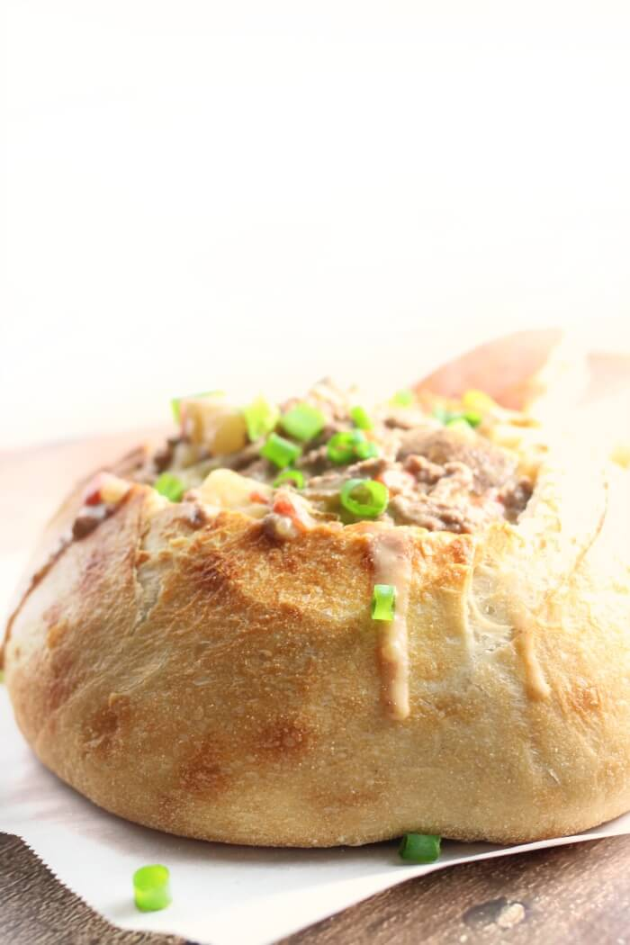 recipe for cheeseburger soup