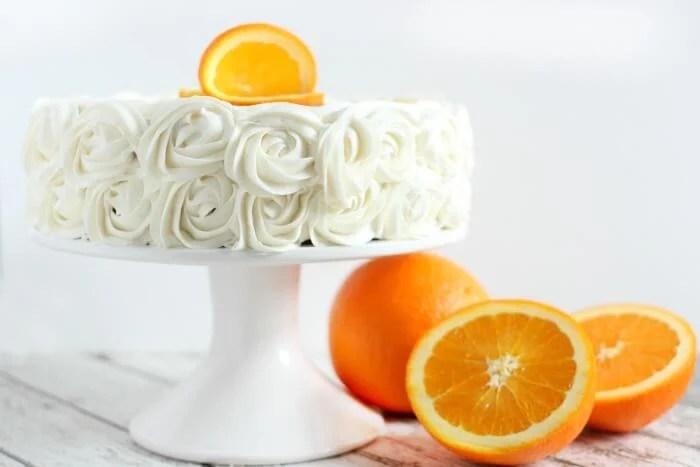 NAVEL ORANGE CAKE