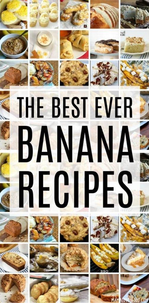 BEST BANANA RECIPES