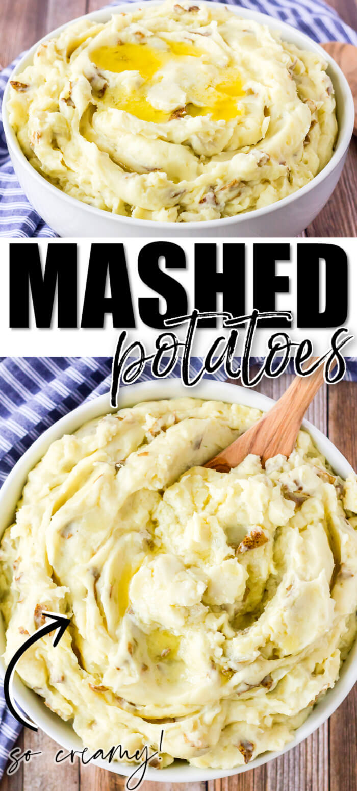 BEST HOMEMADE MASHED POTATOES