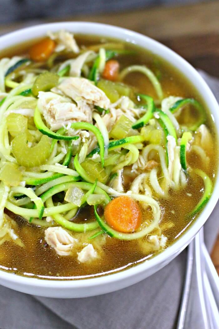 Chicken Zoodle Soup Instapot