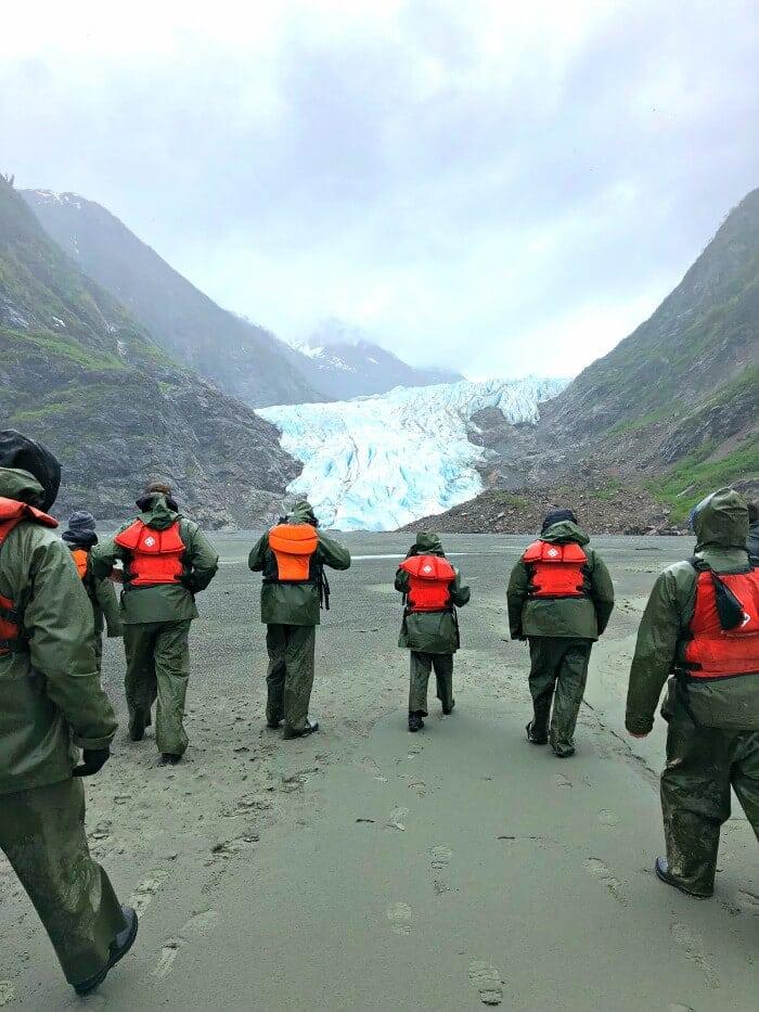 SKAGWAY ALASKA GLACIER EXCURSION