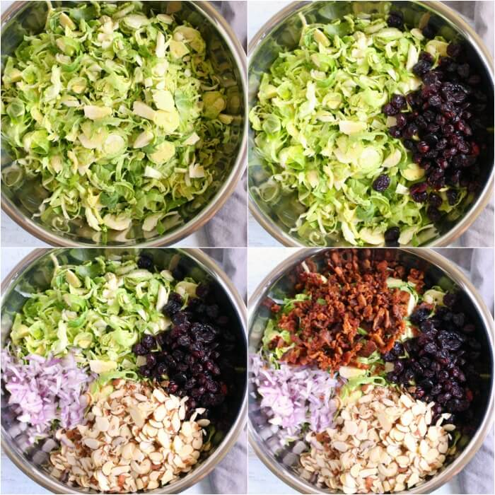 HOW TO MAKE BRUSSEL SPROUT SALAD