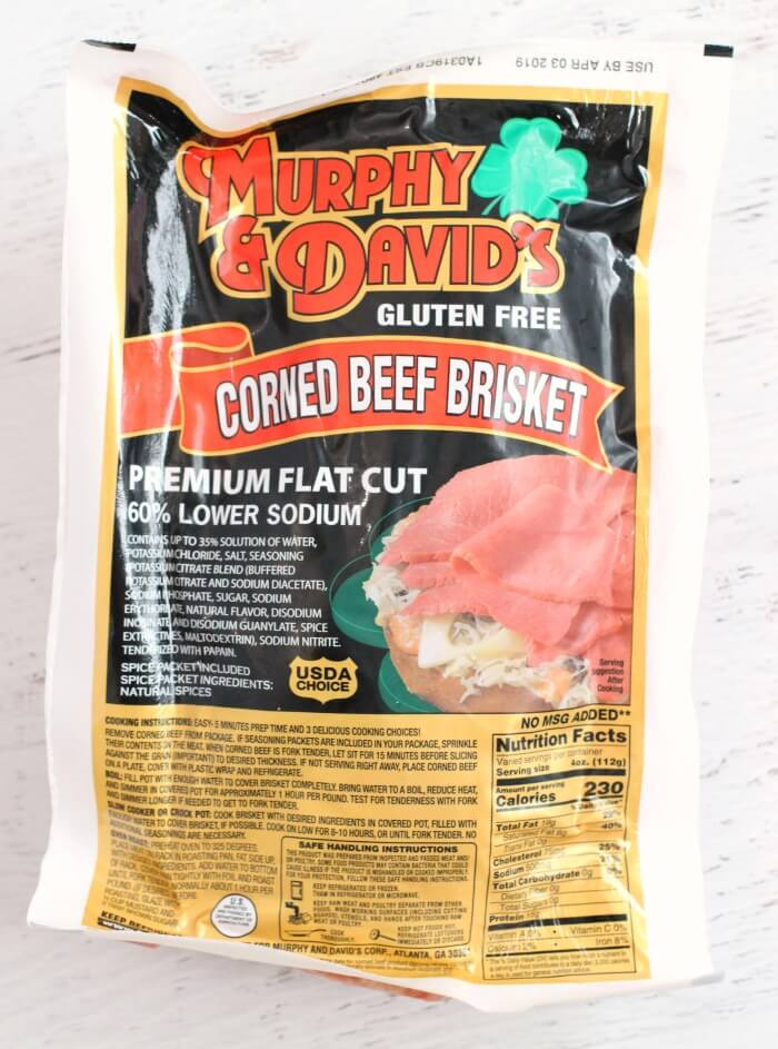WHAT TYPE OF MEAT FOR CORNED BEEF AND CABBAGE