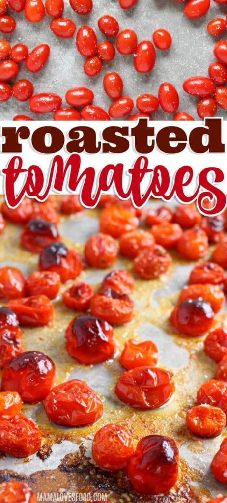 EASY ROASTED TOMATOES