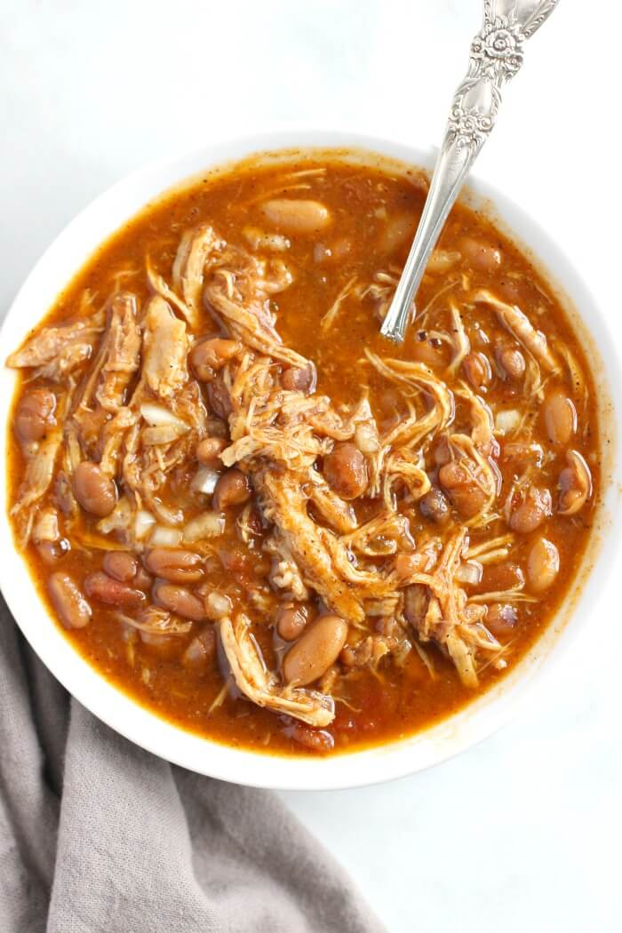 EASY PULLED PORK CHILI