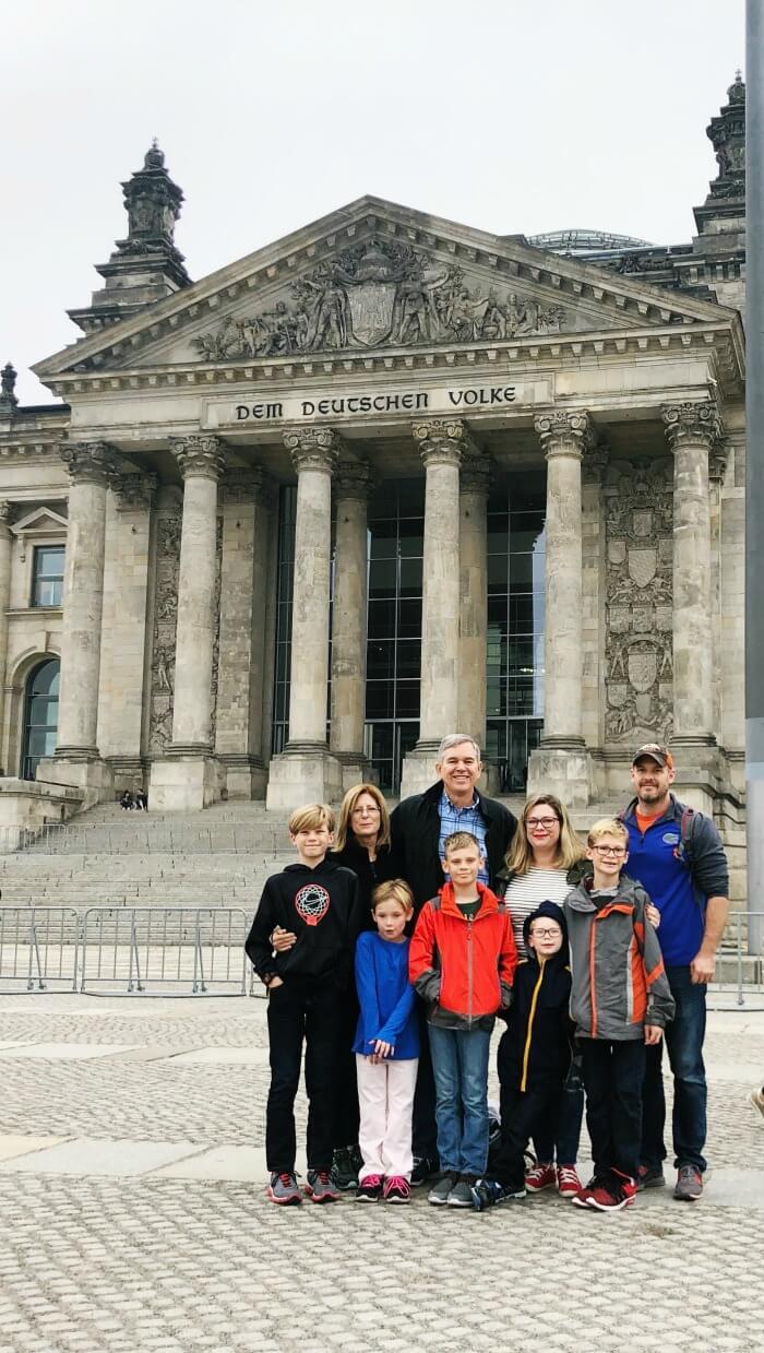 HISTORIC BUILDING IN BERLIN GERMANY