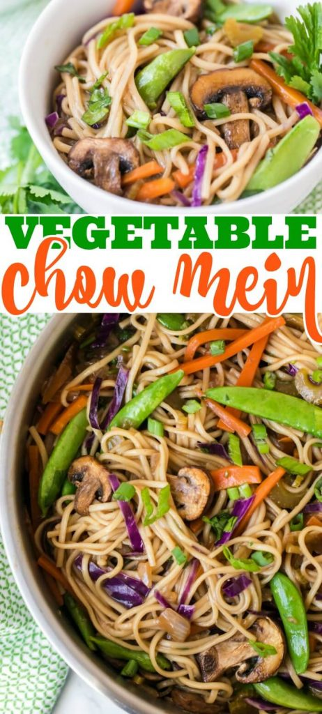 EASY VEGETABLE CHOW MEIN RECIPE