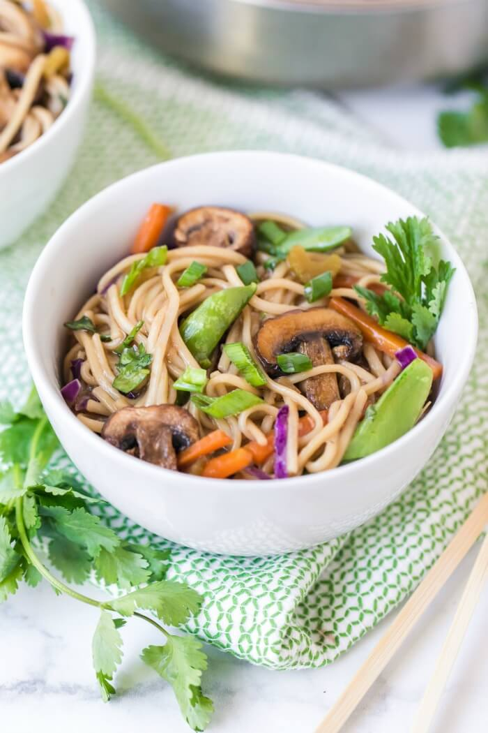 HEALTHY VEGETABLE CHOW MEIN
