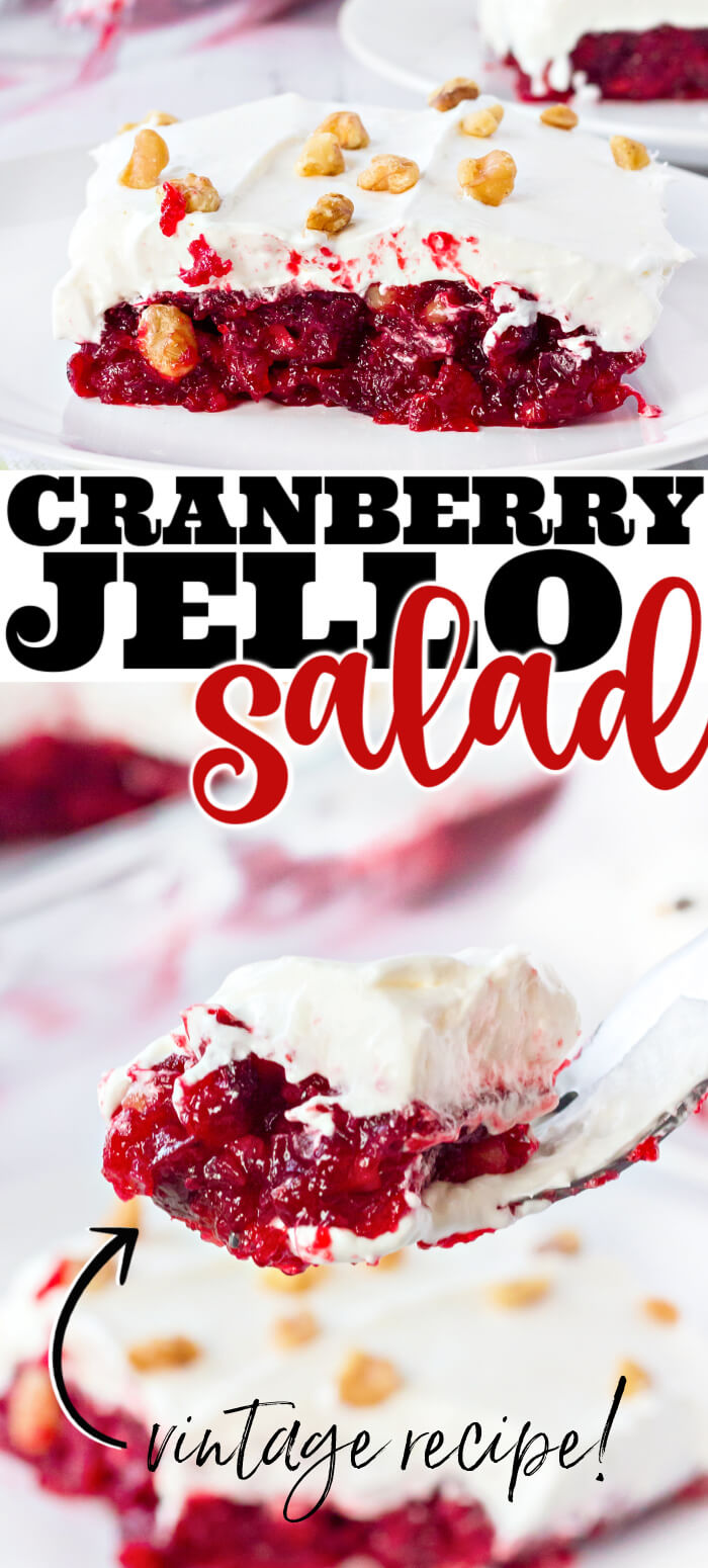 EASY CRANBERRY JELLO SALAD RECIPE