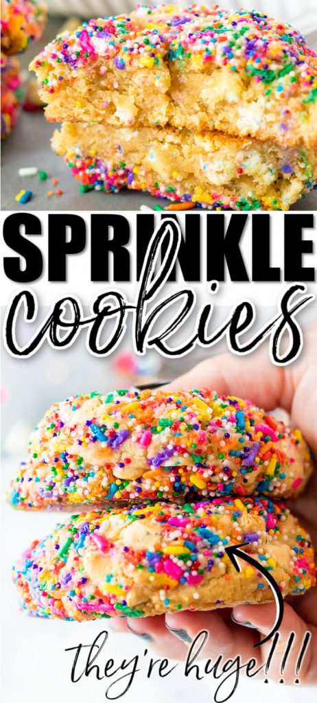 BEST SPRINKLE COOKIES
