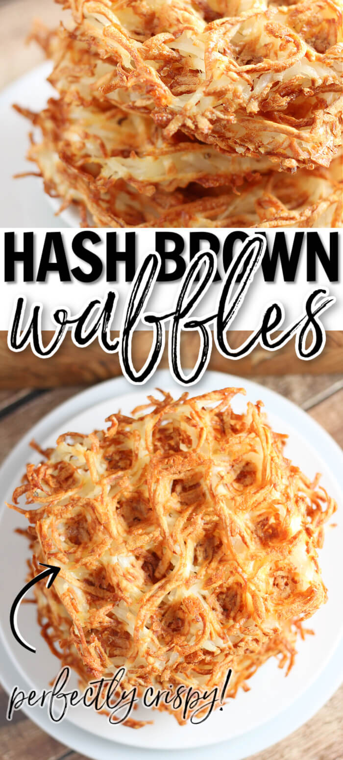 EASY HASH BROWN WAFFLE RECIPE