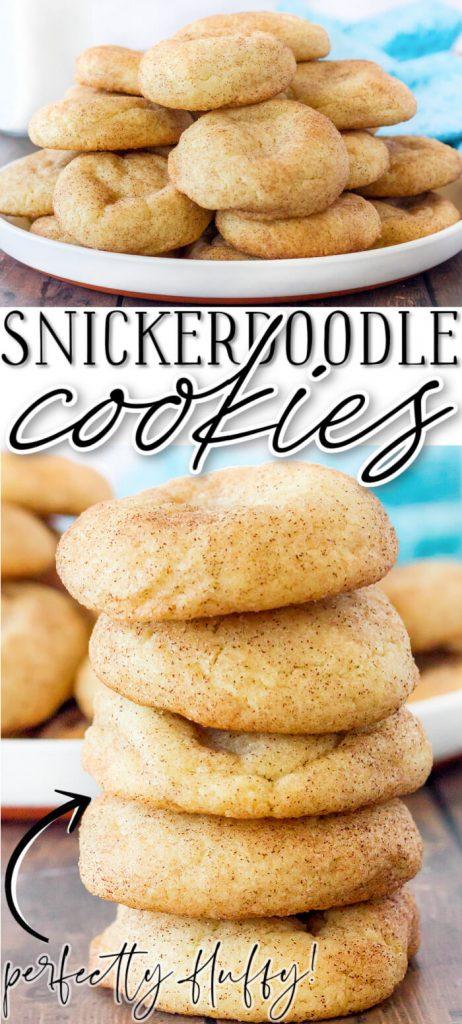 BEST SNICKERDOODLE COOKIE RECIPE