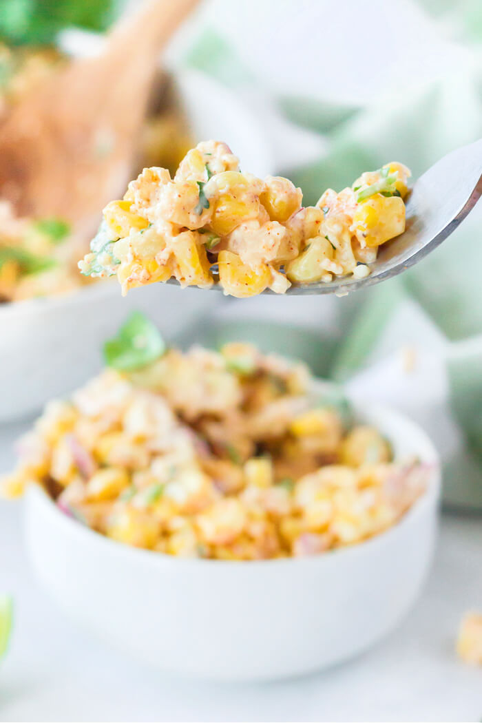 ROASTED CORN SALAD MEXICAN