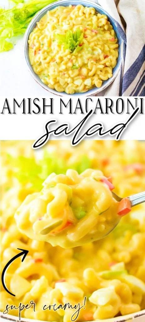 CLASSIC AMISH MACARONI SALAD