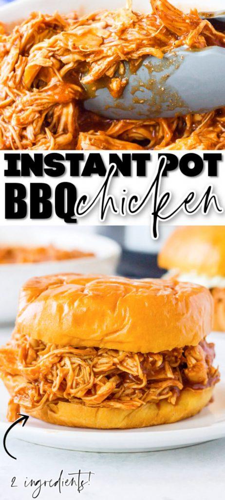 EASY INSTANT POT BBQ CHICKEN