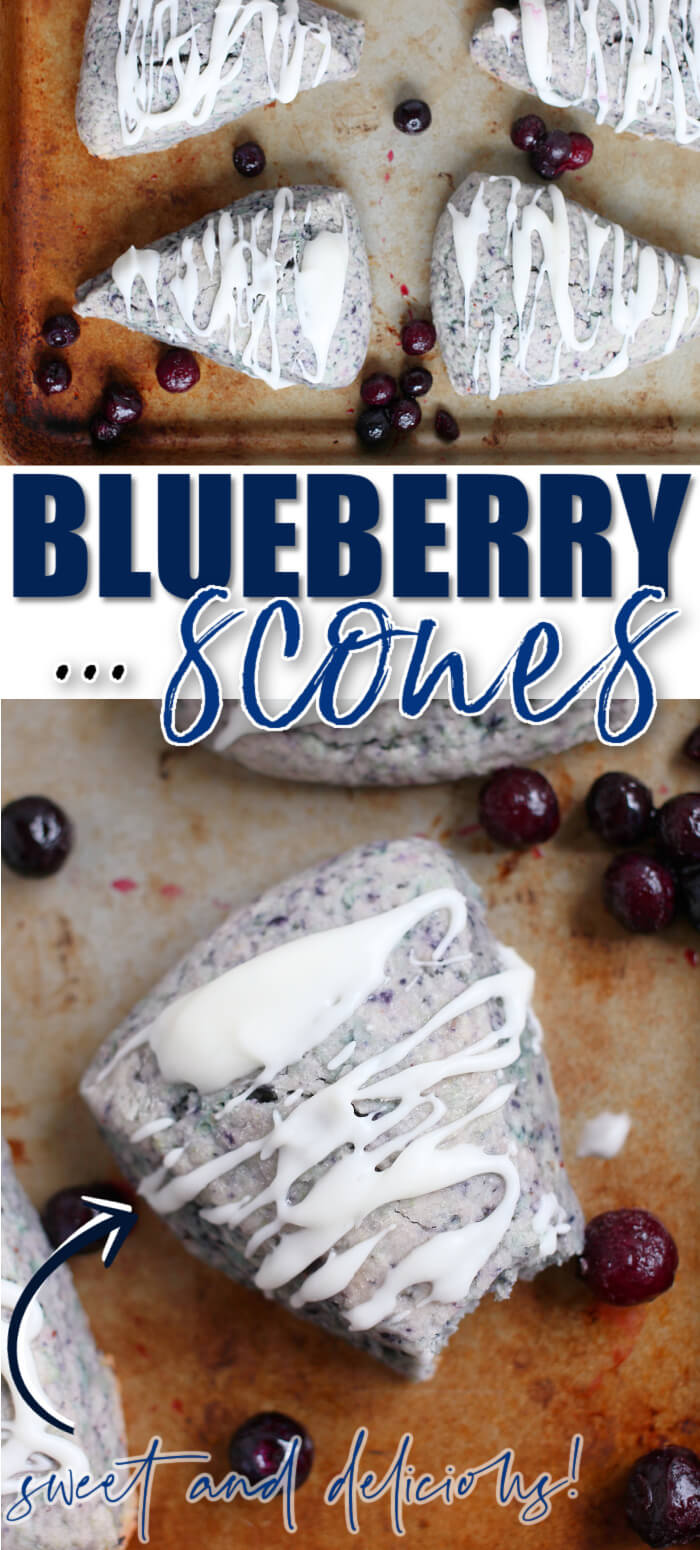 BEST BLUEBERRY SCONES RECIPE