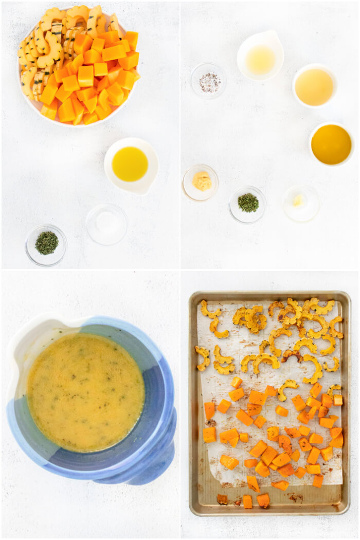 HOW TO MAKE BUTTERNUT SQUASH SALAD