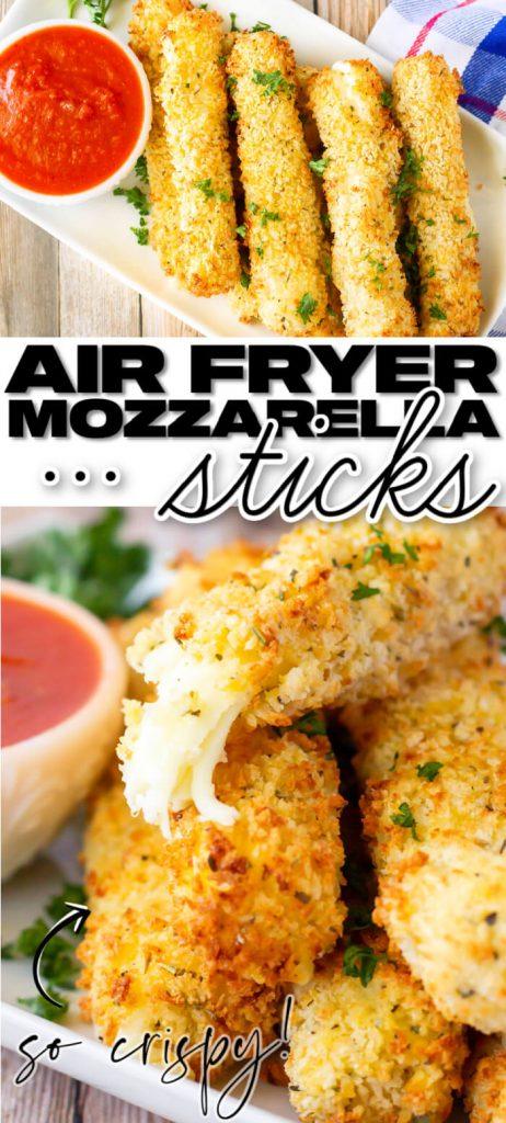 EASY AIR FRYER MOZARELLA STICKS
