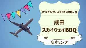 飛行機好き必見!成田スカイウェイBBQで広々キャンプ