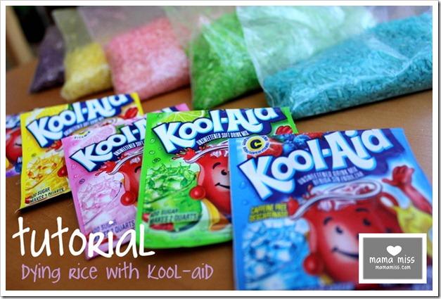 Kool Aid Dyed Rice Mamamiss