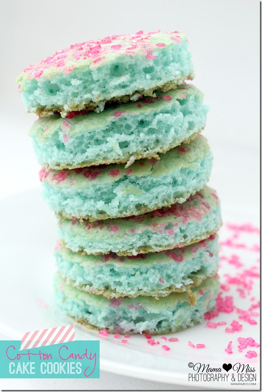 Cotton Candy Cake Cookies Mama Miss