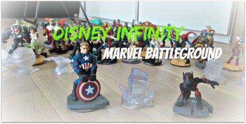 Disney infinity marvel Battleground Test