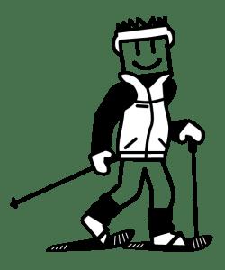 autocollant-papa-raquette-neige