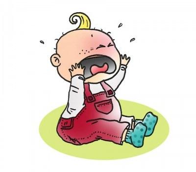 bébé frustré