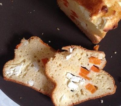 cake aux carottes et à la feta