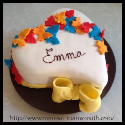 Rainbow cake au chocolat