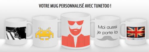 Mug personnalisé Tunetoo.com