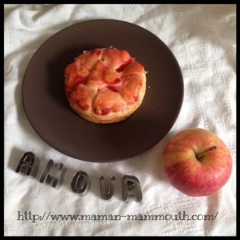 tourtes d'amour aux pommes, défi du gâteau