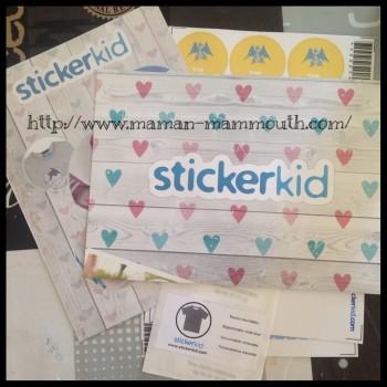 Marquer ses affaires avec Stickerkid