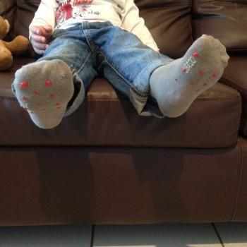 chaussettes antidérapantes
