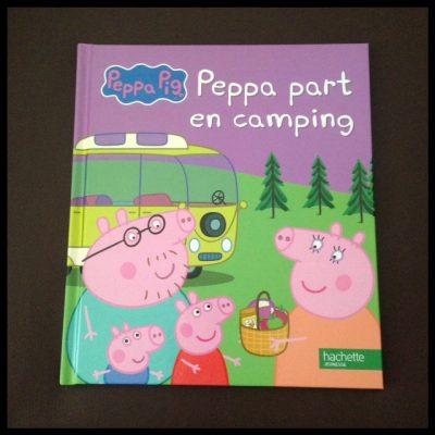 Peppa Pig part en camping