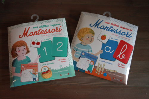 Lettres et chiffres rugueux #Montessori
