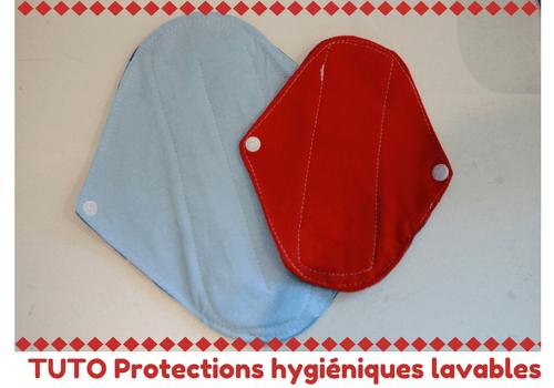 Tuto serviettes hygiéniques lavables