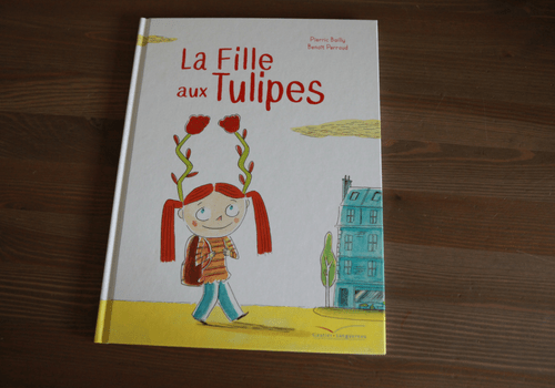 "Album jeunesse ""La fille aux tulipes"""