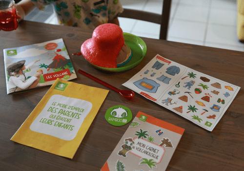 Kit Pandacraft sur les volcans