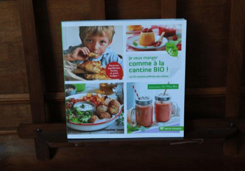 Livre de recettes bio pour enfants Terre Vivante