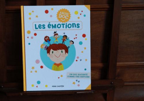 sélection de livres sur les émotions