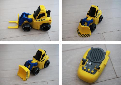 Bulldozer 3 en 1 Tooko
